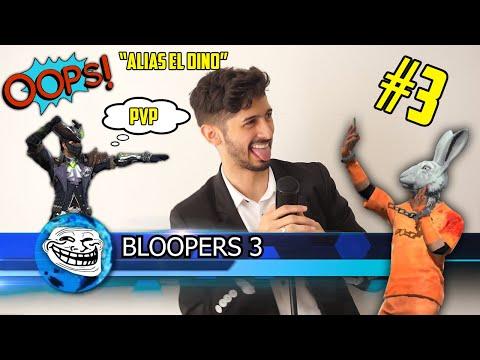 """🚨 ALIAS EL DINO """"BLOOPERS"""" 3 TEMPORADA Capitulo #3"""