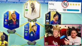 196 RATED! - BREAKING THE W2S 195 FUT DRAFT WORLD RECORD CHALLENGE! - FIFA 19