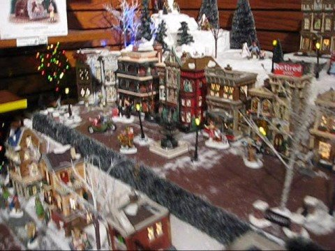 Department 56 - Christmas in the City Series Display Video - YouTube
