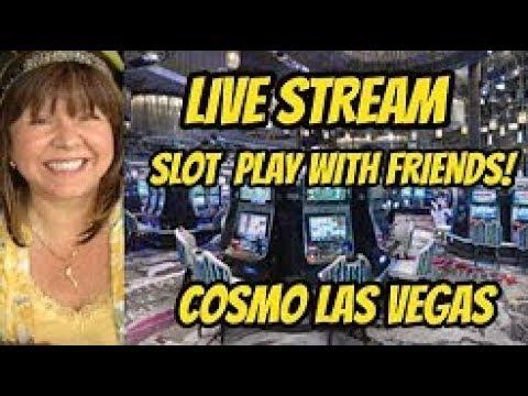 Live stream handpay at Cosmopolitan!