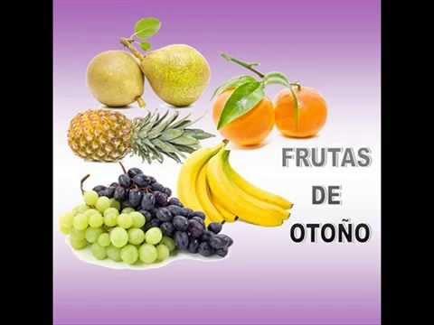 Frutas De Otoño Vocabulario Básico