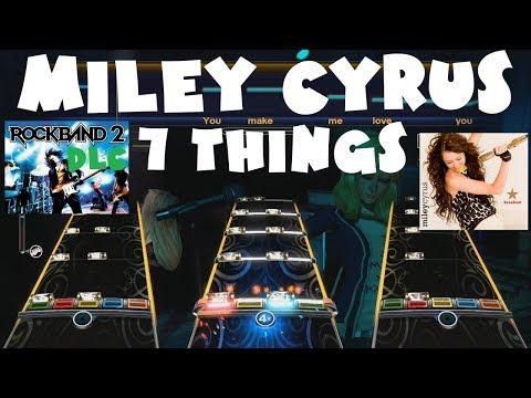 Miley Cyrus - 7 Things - Rock Band 2 DLC Expert Full Band (June 22nd, 2010)