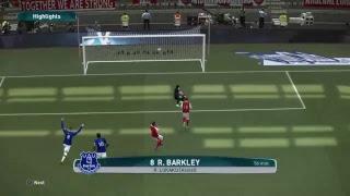 Arsenal vs Everton PES 2017 PS4