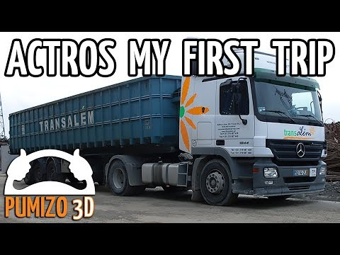 hqdefault mercedes benz actros 1844 my first trip youtube mercedes benz actros fuse box at creativeand.co