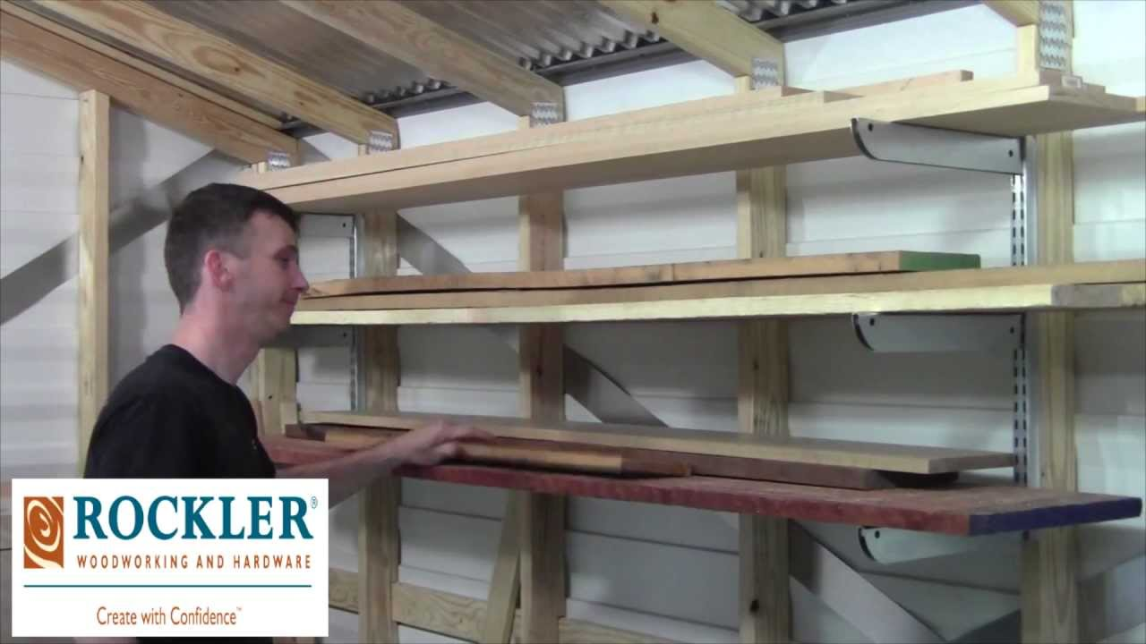 Wonderful Adjustable Lumber Storage Rack Review | Laney Shaughnessy   YouTube
