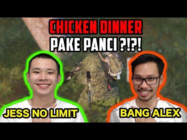 CHICKEN DINNER PAKE PANCI!! Ft. BANG ALEX - PUBG Mobile