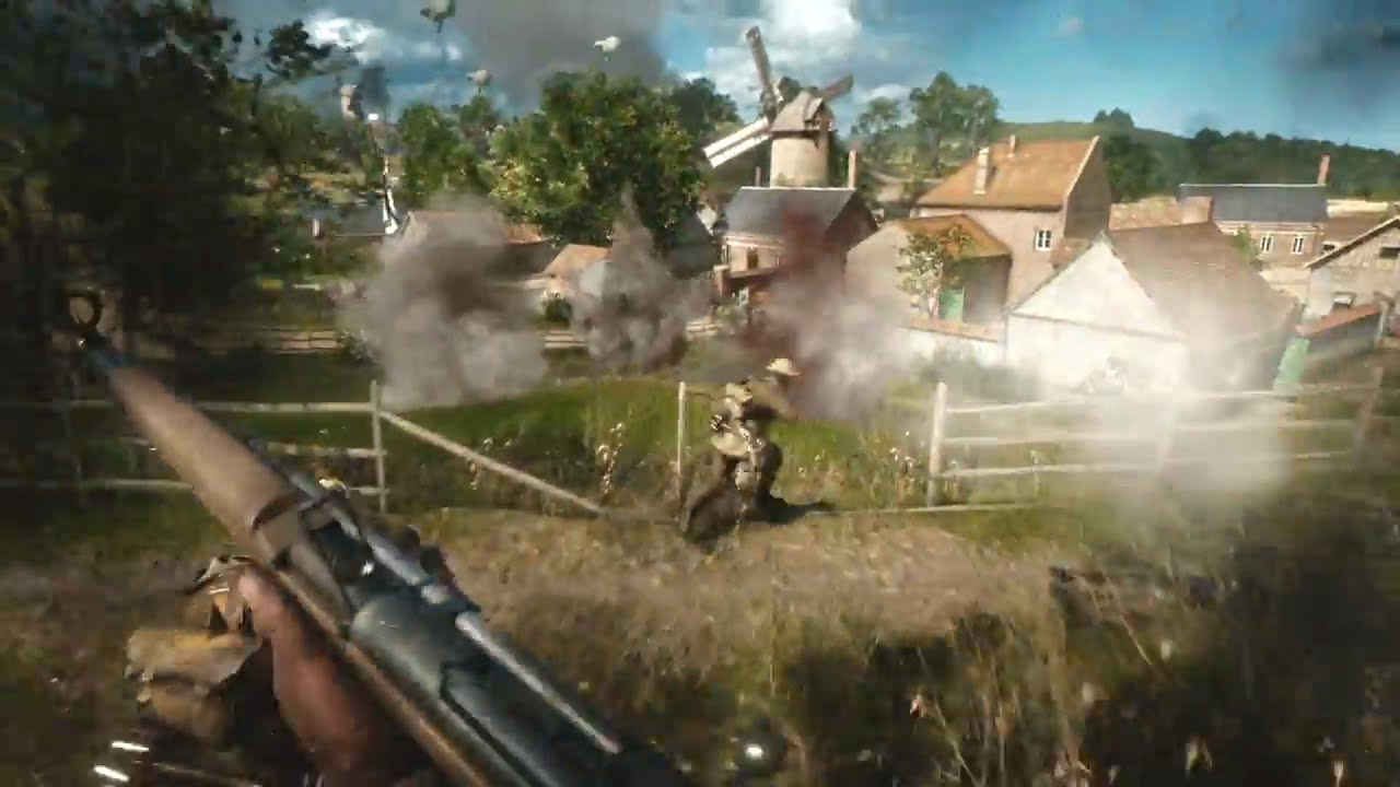 official battlefield 1 gameplay trailer new bf1 trailer youtube