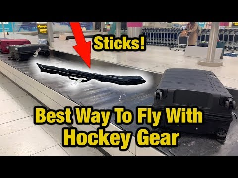 Top 10 Awesome Tips For Flying With Hockey Equipment - Best Way To Fly With Sticks
