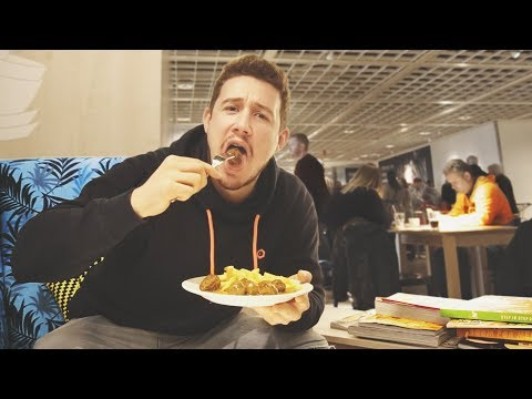 I Ate Meatballs at Every Ikea in 72 Hours & I Can't Believe What Happened (Ikea Meatball Challenge)