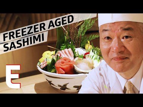 How Master Sushi Chef Toshio Suzuki Ages His Tuna — Omakase