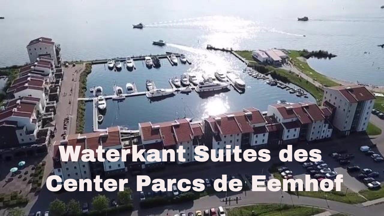 Waterkant suites des center parcs de eemhof youtube
