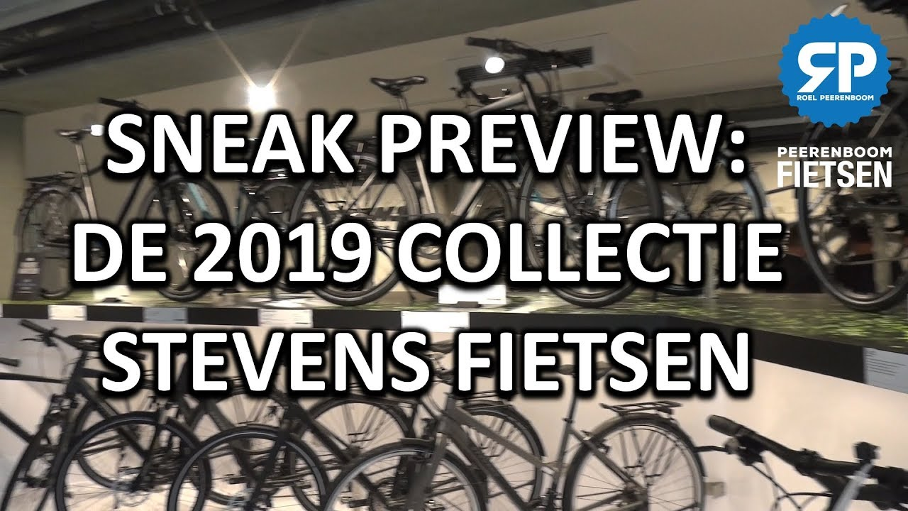 SNEAK PREVIEW: De 2019 collectie Stevens fietsen