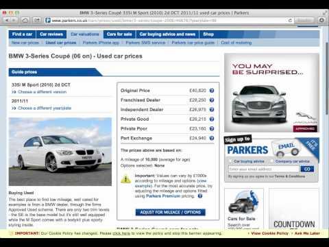 Parkers Car Valuation