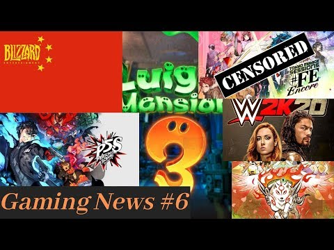 Blizzard China Controversy, Tokyo Mirage #FE Encore IS Censored, WWE 2K20 Glitchfest, New Okami+More