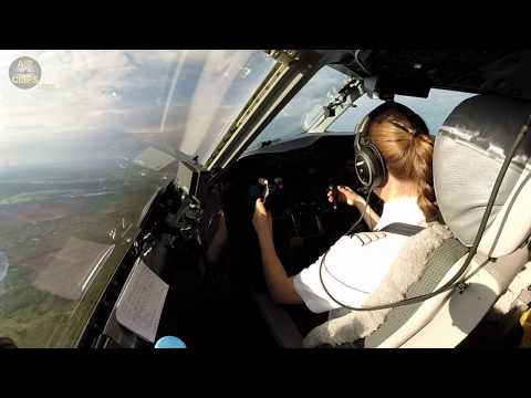 captain-marina's-beautiful-air-baltic-dash-8-q400-takeoff-from-riga!!!-[airclips]