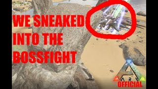 Ark Official PvP|SNEAKING INTO TwoGirlsOneTorchs BOSSFIGHT!|SmallTribeServers|Metti