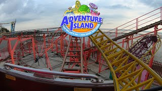 All 5 Roller Coasters at Adventure Island Southend | 4K On-Ride POVs