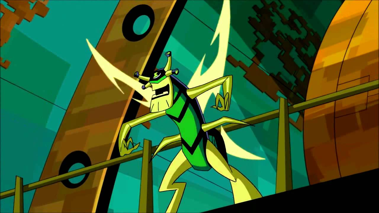 Ben 10 Omniverse Stinkfly Transformation HD (720p) - YouTube