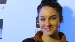 Shailene Woodley honored by Miles Teller at Sundance 2013