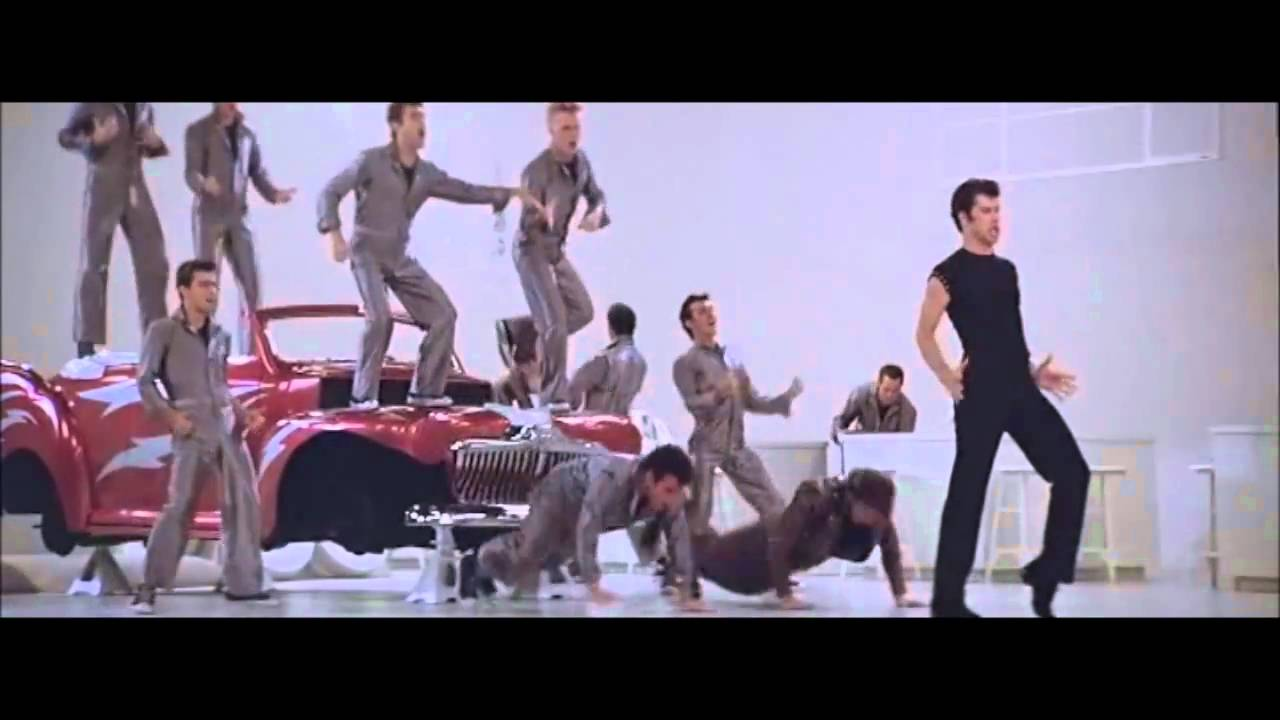 Grease Greased Lightning With Lyrics Youtube