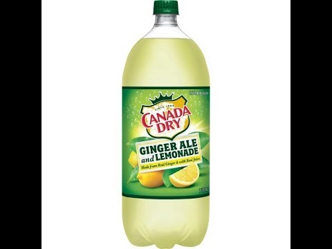 Canada Dry Ginger Ale With Lemonade