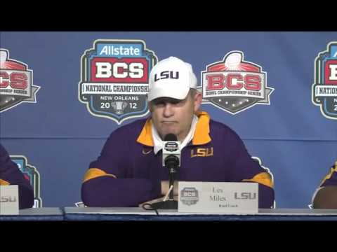 Bobby Hebert Calls Out Les Miles - BCS Championship Post Game - 1/9/12