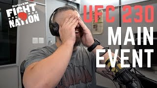 UFC 230 Main Event Announcement Reaction | SiriusXM | Luke Thomas