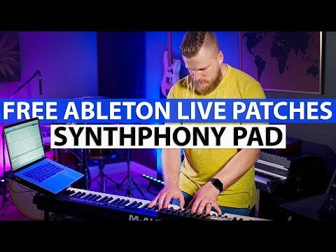 Ableton Worship Patch! - Synthphony Pad — MainStage Patches
