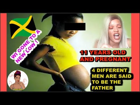 11 yrs Old AND Preganant in Jamaica