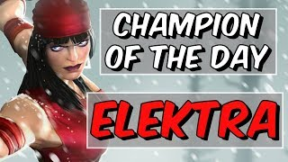 Elektra - Champion Of The Day 2018 #5 - Marvel Contest Of Champions