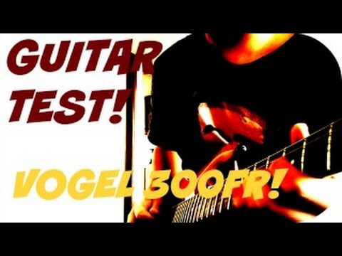 GUITAR TEST! -Vogel 300FR  - While My Guitar Gently Weeps - Toto (1st solo cover)