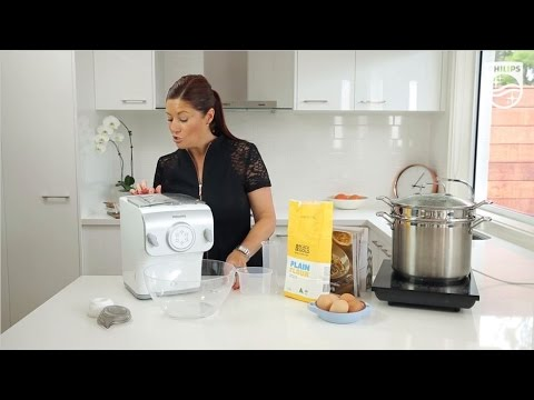 How to use the Pasta & Noodle Maker with Built-in Auto-weighing | Philips | HR2357