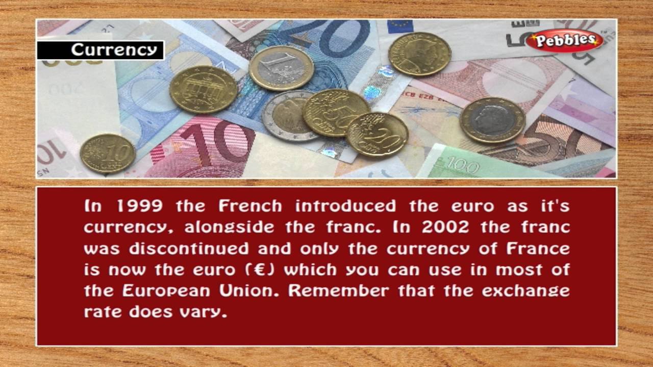 Currency In France Learn French Through English For Beginners Grammar