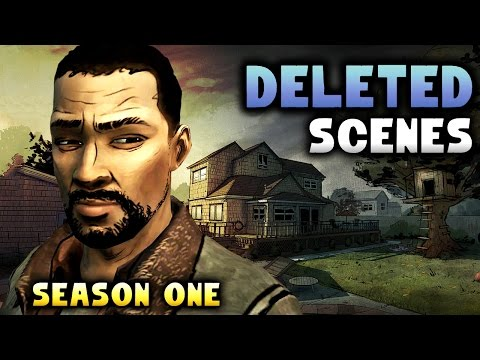 The Walking DEAD |  Deleted Scenes, Choices, & Audio Season 1 [Telltale]