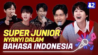 #TokopediaxHello82 SUPER JUNIOR Nyanyi Dalam Bahasa Indonesia! | Try-lingual Live