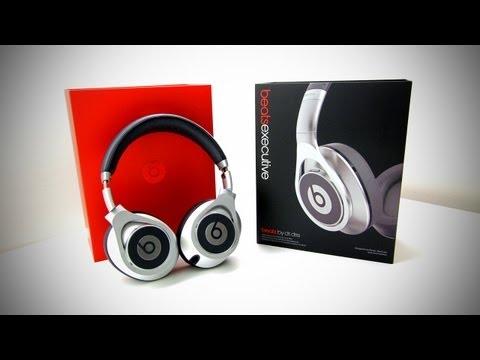 Beats Executive Unboxing & Review (Beats Over-Ear Executive Headphones - Silver)