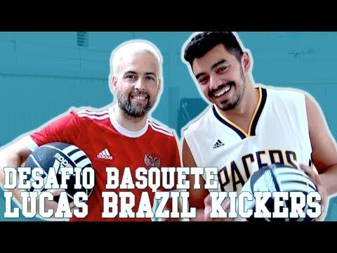 Desafio de Basquete Chuá #1 - Brazil Kickers | Canal Chuá