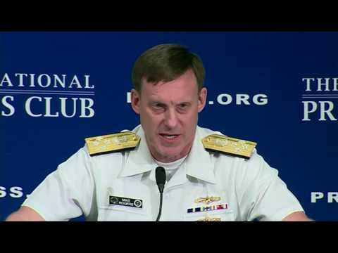 Rogers discusses cyber at National Press Club