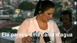 Marcelo Rezende humilha Fabíola Gadelha ela parece uma caixa d'água repórter no Amazonas