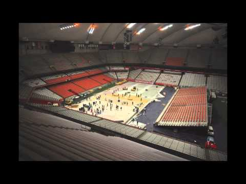 History At A Glance Carrier Dome Syracuse University