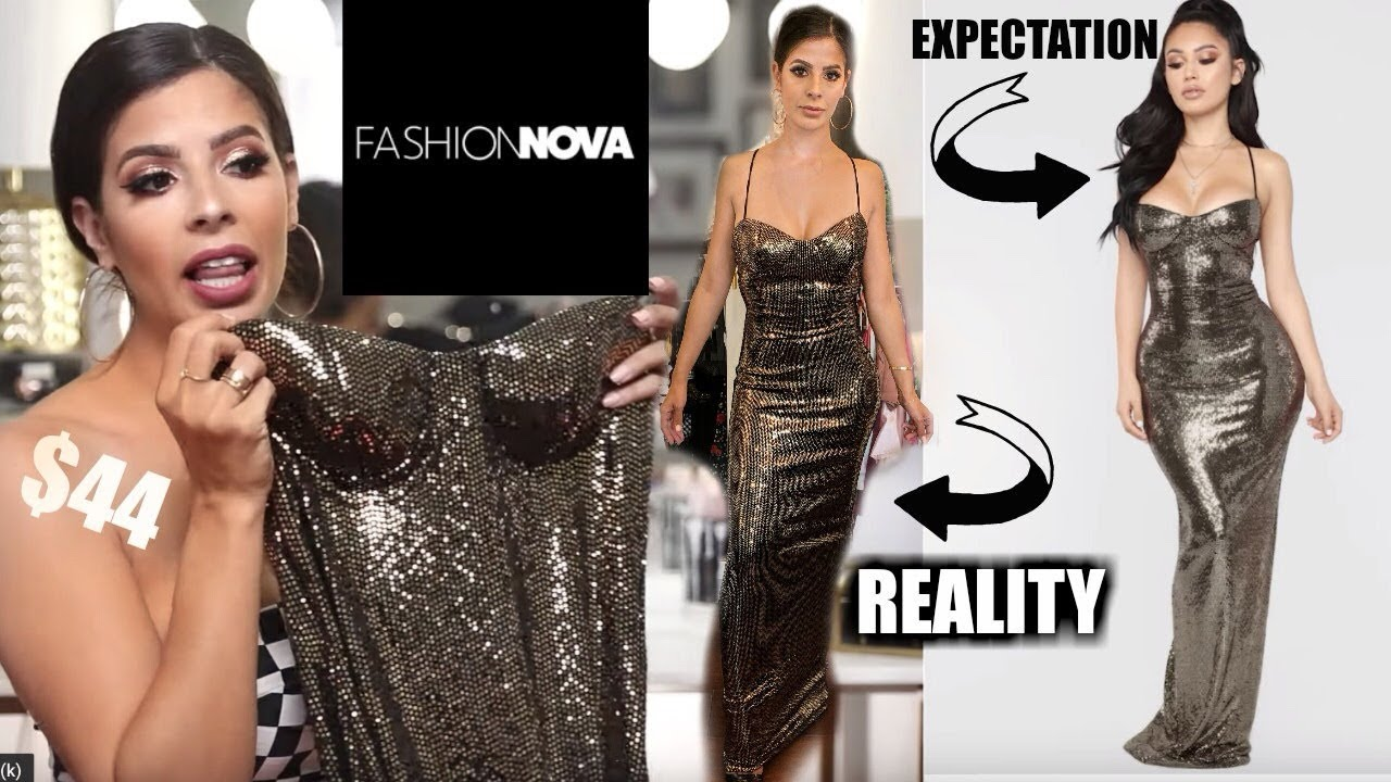02c9f77a I TRIED ON 18 FASHION NOVA PROM DRESSES $2000 worth - YouTube