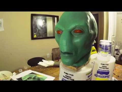 Making Of Sleepwalker Head