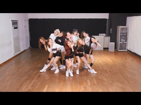 PRISTIN (프리스틴) - WEE WOO Dance Practice (Mirrored)