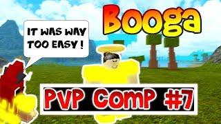 PVP COMP #7 | ROBLOX BOOGA BOOGA