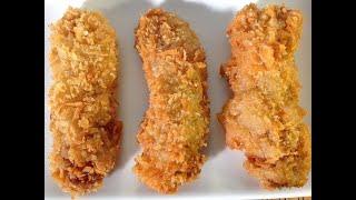 How To Make Fried Bananas-Asian Food Recipes-Desserts-Keto