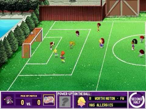 backyard soccer mls edition gameplay youtube
