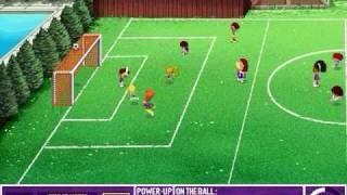 Backyard Soccer: MLS Edition Gameplay