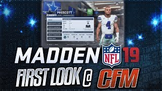 FIRST LOOK AT MADDEN 19 FRANCHISE MODE! -- Player Archetypes + Custom Draft Classes Explained