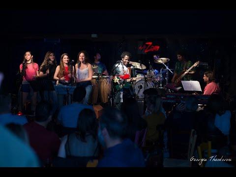 Adedeji -IJO OMINIRA (Freedom jazz dance) Live in Athens