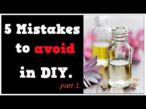5 mistakes to avoid with DIY Eliquids (Tips & Suggestions for DIY Mixing) Part.1